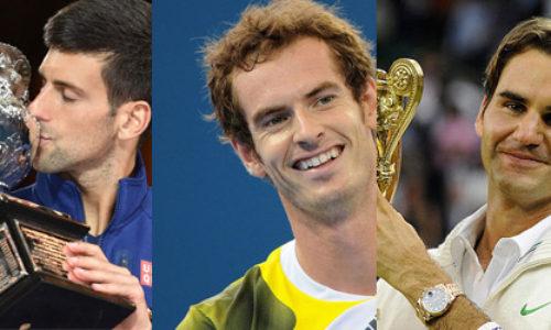 Top Three Men's players